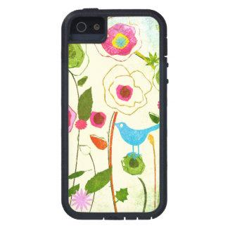 Watercolor Garden Flowers iPhone 5 Cases