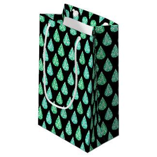 Watercolor gemstone small gift bag