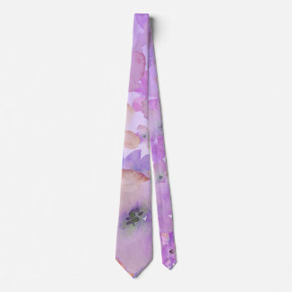 *~* Watercolor Gentle Floral Beauty Tie