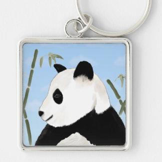 Watercolor Giant Panda Keychain