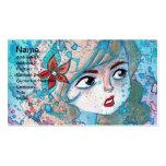 Watercolor Girl Business Card