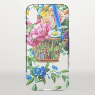 watercolor Girly Cute clearly Floral iphone case