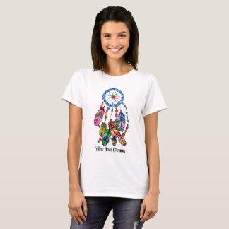 Watercolor gorgeous rainbow dream catcher T-Shirt