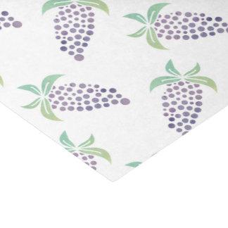 Watercolor Grapes Tissue Paper