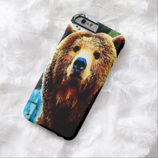 Watercolor Grizzly Bear iPhone 6 Case