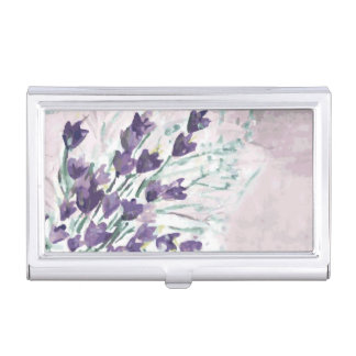 Watercolor grunge background with bells business card holders