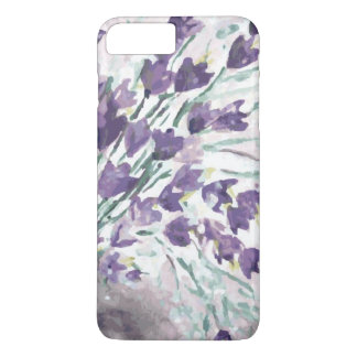 Watercolor grunge background with bells iPhone 8 plus/7 plus case
