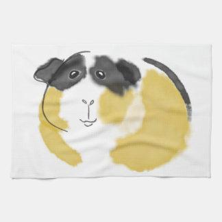 Watercolor Guinea Pig Tea Towels
