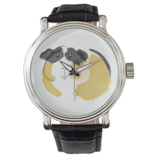 Watercolor Guinea Pig Watches