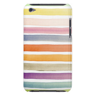 Watercolor hand painted brush strokes, banners. iPod touch cases
