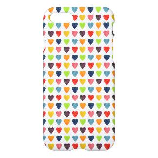 Watercolor Heart Pattern iPhone 7 Case