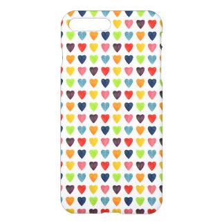 Watercolor Heart Pattern iPhone 7 Plus Case