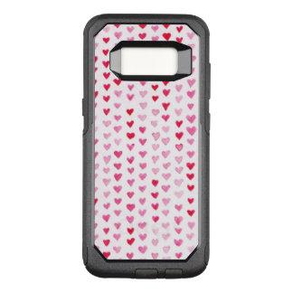 Watercolor Hearts OtterBox Commuter Samsung Galaxy S8 Case