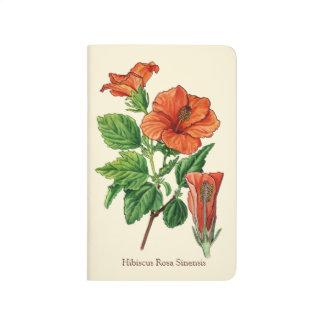 Watercolor Hibiscus Journals