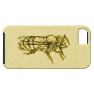 Watercolor Honey Bee iPhone 5 Cases