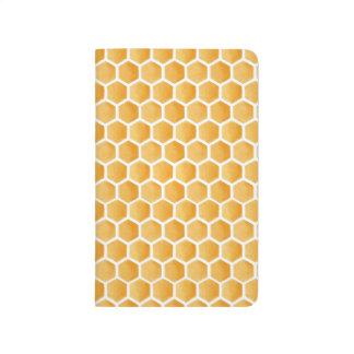 Watercolor Honey Pattern Journal