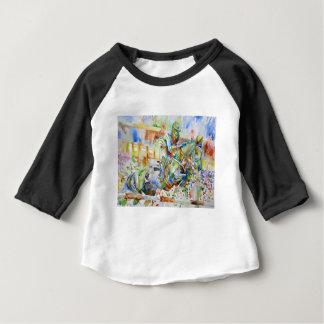 watercolor HORSE .4 Baby T-Shirt