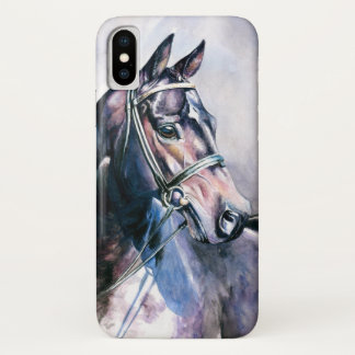 Watercolor Horse iPhone X Case