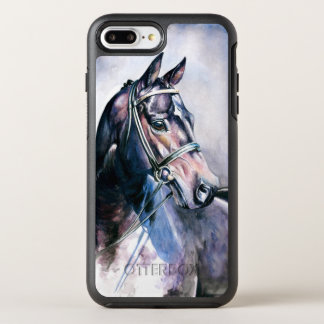 Watercolor Horse OtterBox Symmetry iPhone 8 Plus/7 Plus Case