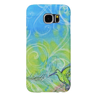 Watercolor Hummingbird Samsung Galaxy S6 Cases