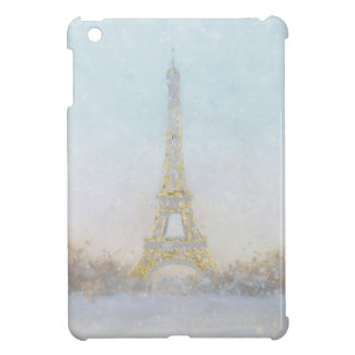 Watercolor | Image of Eiffel Towe iPad Mini Cover