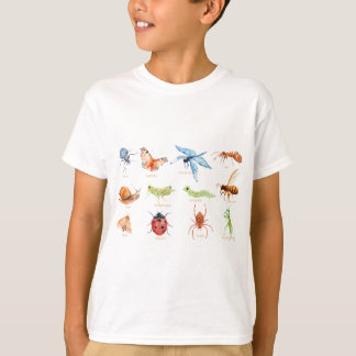 Watercolor insect illustration T-Shirt