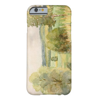 Watercolor Landscape Barely There iPhone 6 Case