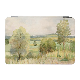 Watercolor Landscape iPad Mini Cover