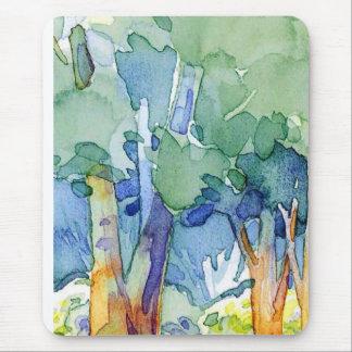 watercolor landscapes mousepad