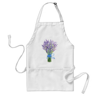 Watercolor Lavender Apron