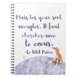 Watercolor Le Petit Prince The Little Prince Note Books