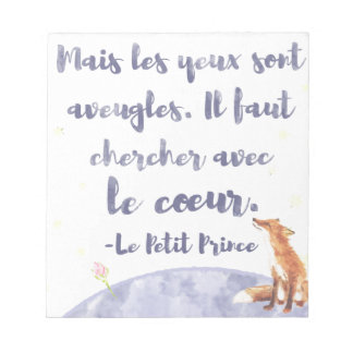 Watercolor Le Petit Prince The Little Prince Notepads