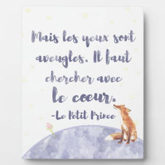 Watercolor Le Petit Prince The Little Prince Plaque