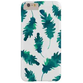 Watercolor Leaves Barely There iPhone 6 Plus Case