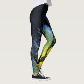 Watercolor Leggins Leggings