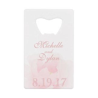 Watercolor Light Pink Peony Wedding Elegant
