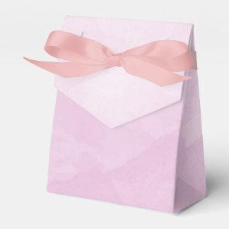 Watercolor Lilac Favour Box
