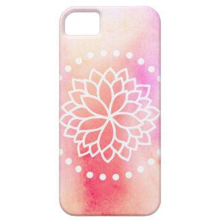 Watercolor Lotus iPhone 5/5s Case