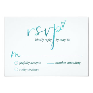 Watercolor Love is Love Gay RSVP Cards