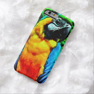 Watercolor Macaw Parrot iPhone 6 Case