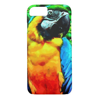 Watercolor Macaw Parrot iPhone 7 Case