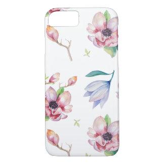 Watercolor Magnolia iPhone 7 Case