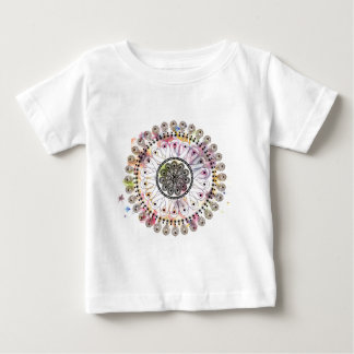 Watercolor Mandala Baby T-Shirt