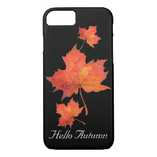 Watercolor Maple Leaf iPhone 8/7 Case