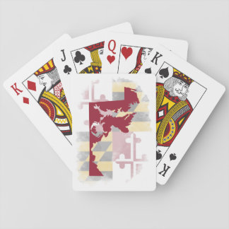 Watercolor Maryland Crab Playing Cards