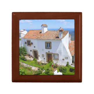 Watercolor Mediterranean house Gift Box