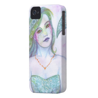 Watercolor Mermaid iPhone 4 Case