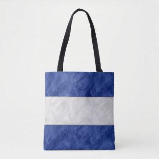 Watercolor Nautical Signal Maritime Flag Tote Bag