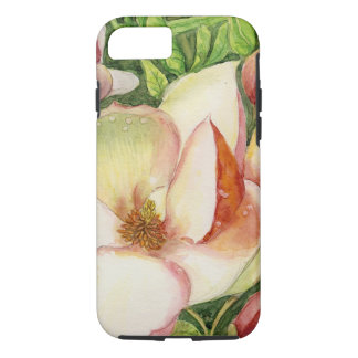 Watercolor of Magnolia Flower iPhone 7 Case