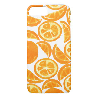 Watercolor Orange Slices - Watercolor Fruit iPhone 7 Case